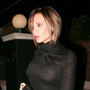 Victoria Beckham exposed her boobs in a see through sweater