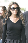 Victoria Beckham exposed her pokies